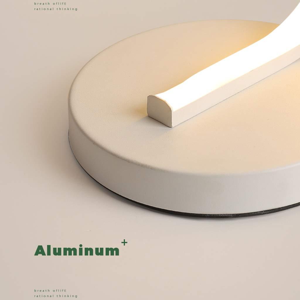 Lámpara de mesa LED regulable, lámpara de escritorio curvada de 3 ...