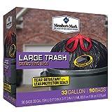 Member's Mark 33-Gallon Power-Guard Drawstring Trash Bags (90 ct.) - Trash Bags