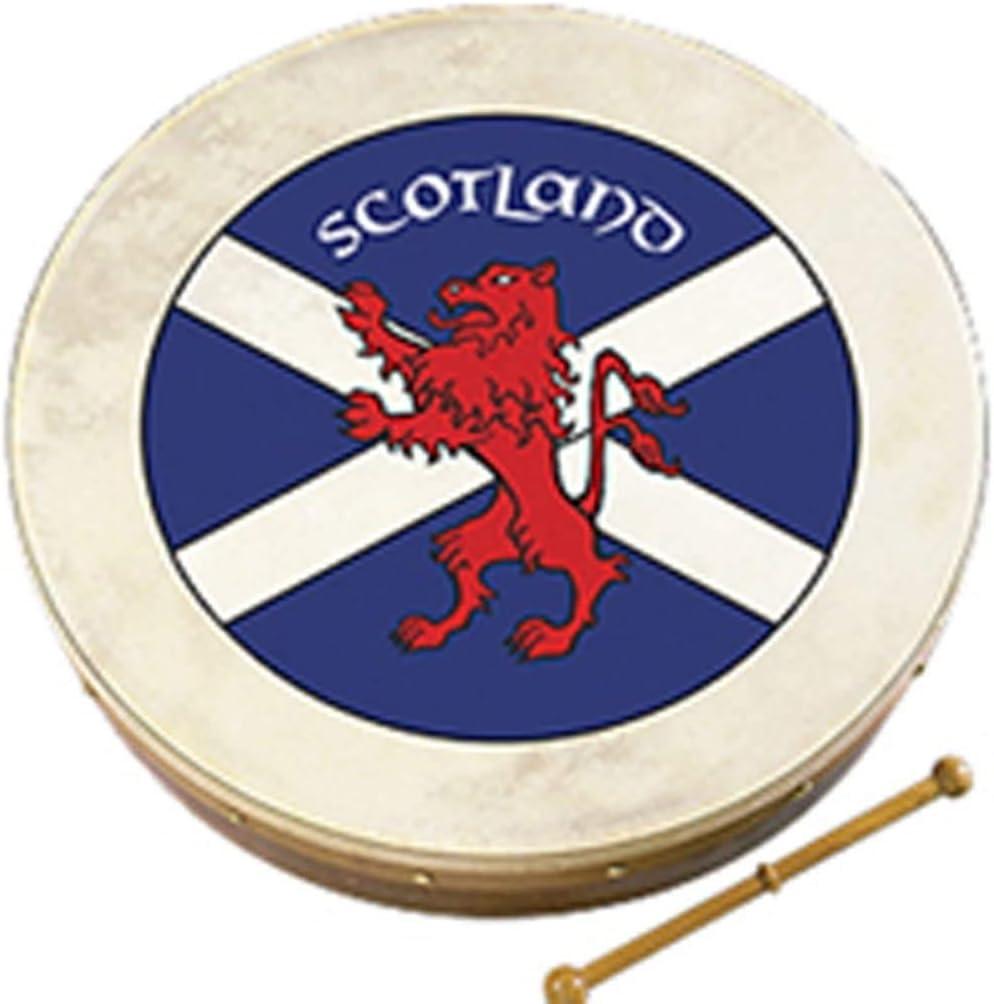Waltons 18 Scottish Flag Celtic Bodhran Pack Set