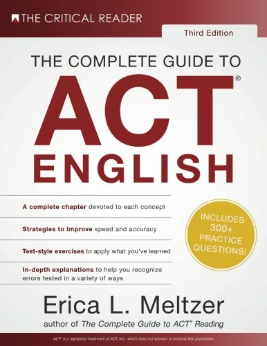 Pdf Test Preparation The Complete Guide to ACT English, 3rd Edition