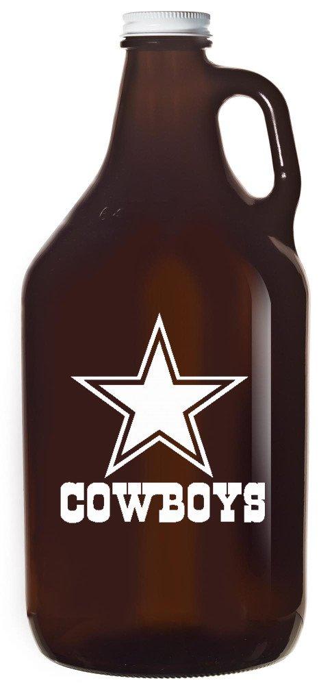 Boelter NFL Dallas Cowboys 64oz Amber Growler