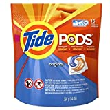 Tide PODS Original Scent HE Turbo Laundry Detergent Pacs 16-load Bag (Pack of 2)