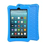 BFTOP Fire 7 2017 Kid Case - Light Weight Shock Proof Kid-Proof Cover Kids Case for All Fire 7 Tablet (7th Generation, 2017 Release), Blue