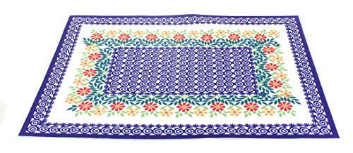 - Manufaktura Blue Rose Polish Pottery Garden Bouquet Placemat Set