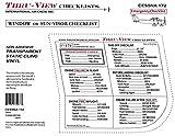 Thru-View Emergency Checklist - Cessna 172 - Carbureted