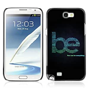 YOYOSHOP [Be Everything Cool Sign] Samsung Galaxy Note 2 Case