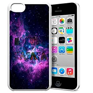 Africa Ancient Proverb HAKUNA MATATA Color Accelerating Universe Star Design Pattern HD Durable Hard Plastic Case Cover for iPhone 5C hjbrhga1544