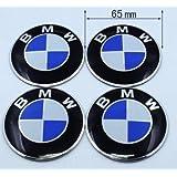 car Emblem Badge Logo Wheel Center Hubs Caps Sticker Adhesive for bmw