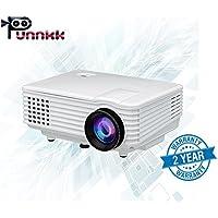 ooze Punnkk P5 Mini LED 3D Projector (White)