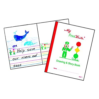 "PrintWrite Drawing & Story Book, 8.5"" x 11"", 32 pages: Office Products"