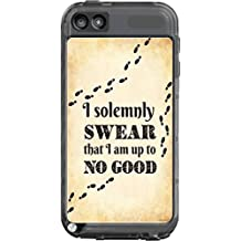 I Solemnly Swear I Am Up To No Good Quote Design Print Image Artwork Lifeproof Fre iPod Touch 5th Gen Case Vinyl Decal Sticker Skin
