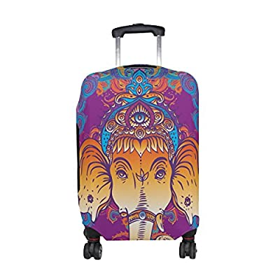 36eefafa61d8 best LORVIES Hippie Elephant Print Travel Luggage Protective Covers ...