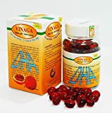 2 Boxes Vinaga DHA Pure GAC Oil - Momordica GAC
