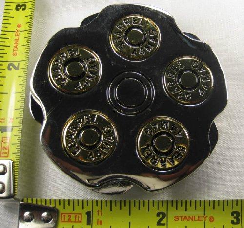 .44 Magnum Metal Belt Buckle Revolver 5 Barrel Hand New (Buckle Revolver)