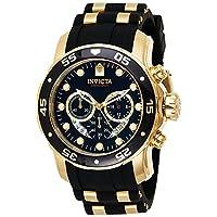Invicta 6981 Pro Diver Collection Chronograph Black Dress Watch Deals