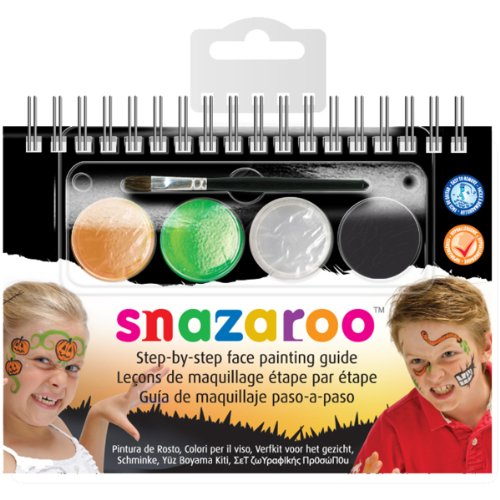 (Reeves Snazaroo Step by Step Face Painting Kit,)