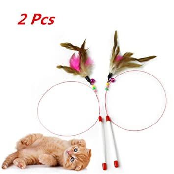 ECOSWAY 2 Piezas de Alambre de Acero para Mascotas, Gatos ...