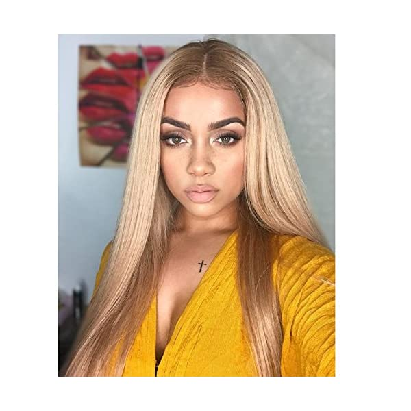 Kerry Grade 10a Brazilian Ombre Blonde Full Lace Wigs For Black