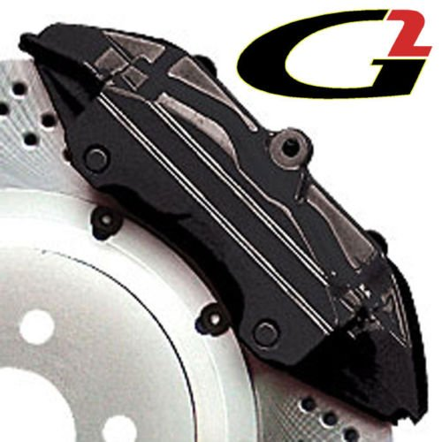 G2 Black Brake Caliper Paint High Heat Temperature Epoxy Style Kit System MADE IN USA