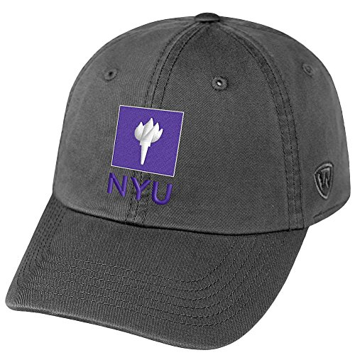 (Top of the World New York University Violets Men's Hat Icon, Charcoal, Adjustable)