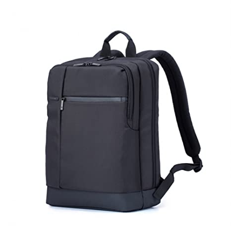 4c4fd3decb95 XIAOMI 15.6 Inch Classic Business Backpack Waterproof Three Layer Large  Capacity Independent Space Zipper Square Design