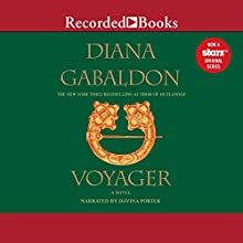 Voyager  Audiobook by Diana Gabaldon Narrated by Davina Porter
