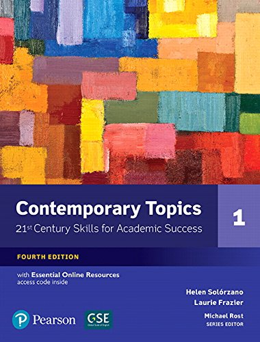 Contemporary Topics 1 with Essential Online Resources (4th Edition)
