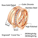 Aeici Womens Rings Fahsion Jewelry Ring I Love