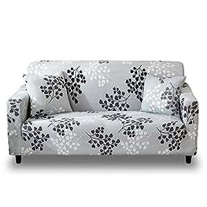 Amazon.com: HOTNIU Funda de sofá elástica de tejido de licra ...