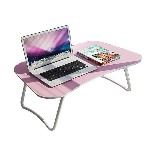 mesa plegable LITING Escritorio de la computadora Cama Mesa ...