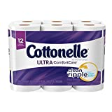 Cottonelle Ultra ComfortCare Toilet Paper, Bath Tissue, 12 Rolls (Health and Beauty)