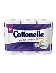 Cottonelle Ultra ComfortCare Toilet Paper, Bath Tissue, 12 To...