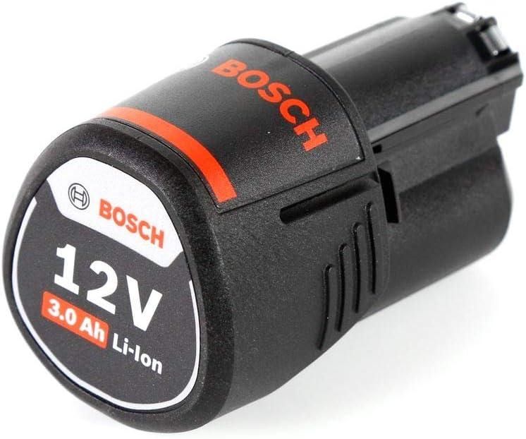 1x Batterie GBA 3,0 Ah sans Chargeur Bosch GKS 12V-26 Professional Scie circulaire sans fil 85mm avec bo/îtier L-Boxx