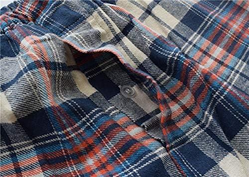 あったか パジャマ メンズ 冬 ルーム ウェア 長袖 綿100 前開き 上下 セット チェック柄 部屋着