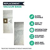 Think Crucial 6 Replacements for Shop-Vac Type B Bags Fit 2 & 2.5 Gallon Wet & Dry Vacs Compatible with Part # SV-9066800