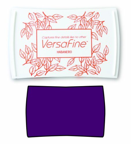 Tsukineko Full-Size VersaFine Instant Dry Pigment Ink, Imperial Purple