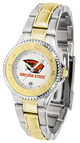 Oregon State Beavers Competitor Two-Tone Women's Watch ()