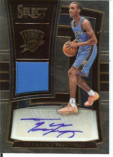Basketball NBA 2017-18 Select Rookie Jersey Autographs #23 Terrance Ferguson MEM Auto/199 Thunder from Select