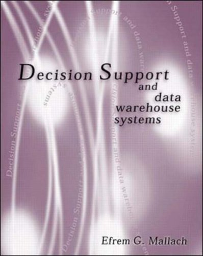 decision support and business intelligence systems 9th edition
