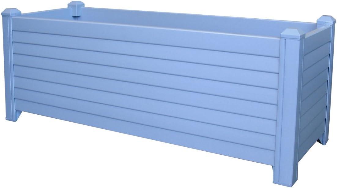 Jardinera Greenland 88x32x33 cm. Color: Azul Lavanda: Amazon.es ...