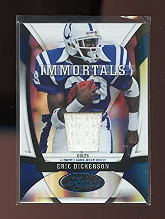 reputable site ab769 b8417 2009 Certified Mirror Blue Materials #206 Eric Dickerson ...