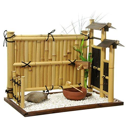 ORIENTAL FURNITURE Zen Bamboo Mini Rock Garden ()