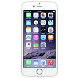 Apple iPhone 6 - 16 GB - Manufacture Refurbished, Unlocked Phone, No Warranty, Gold - Retail Packaging