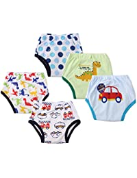 Dimore Baby Toddler 5 Pack Cotton Waterproof Training Pants (M, Boy) BOBEBE Online Baby Store From New York to Miami and Los Angeles