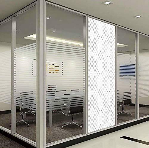 YOLIYANA Privacy Window Film Decorative,Grey and White,for Glass Non-Adhesive,Geometric Diamond Shaped Mosaic Motif Digital Artistic Minimalist,24''x78''