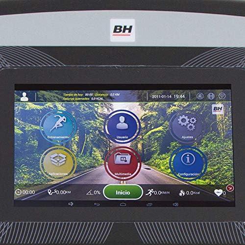 BH Fitness - Cinta de Correr f5 tft: Amazon.es: Deportes y aire libre