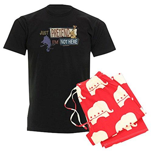 CafePress Ice Age Pretend - Unisex Novelty Cotton Pajama Set, Comfortable PJ Sleepwear (Set Gift Ice Meltdown)