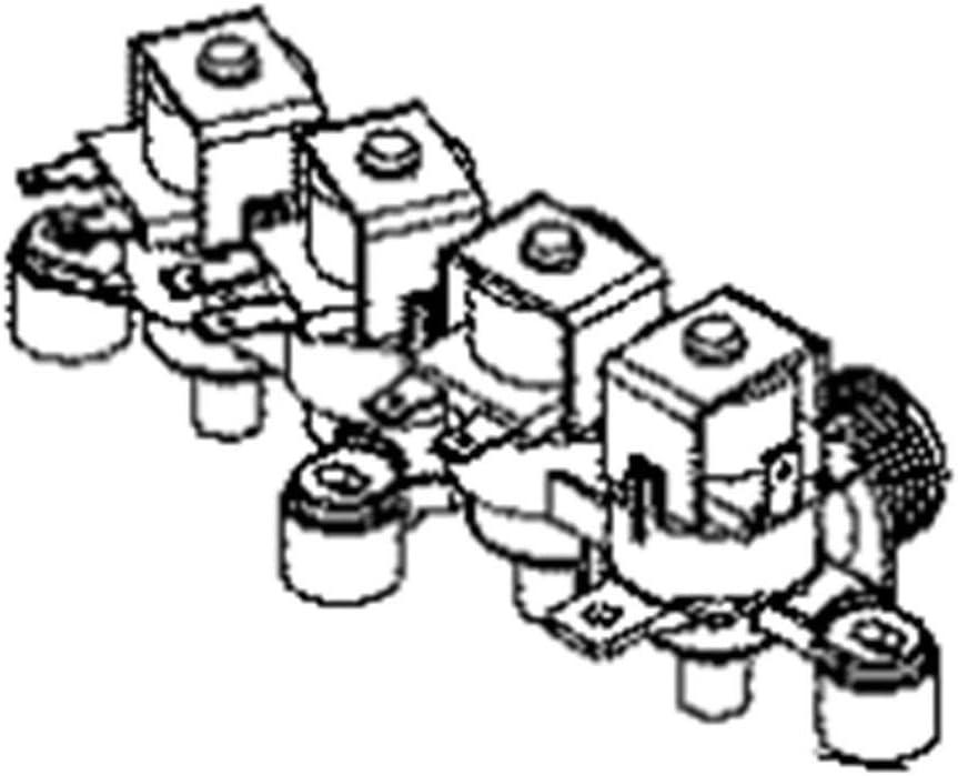 Ge WH13X26637 Washer Water Inlet Valve Assembly Genuine Original Equipment Manufacturer (OEM) Part