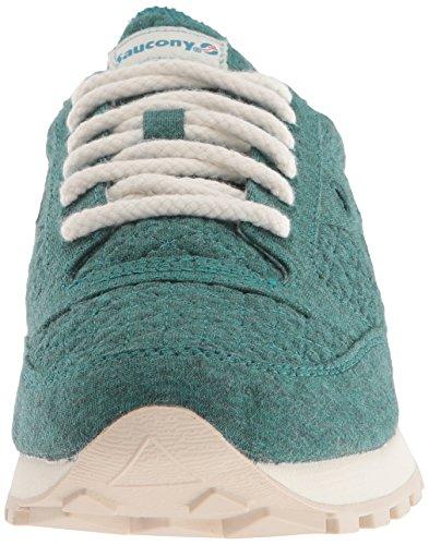 Verde 7 Medie Da Cl Donna Saucony Noi Jazz Sneaker In Originale Originali Accogliente xPwv0fwzq