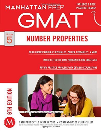 By Manhattan Prep - Number Properties GMAT Strategy Guide, 6th Edition (Manhattan Pre (6th Edition) (2014-12-17) [Paperback]